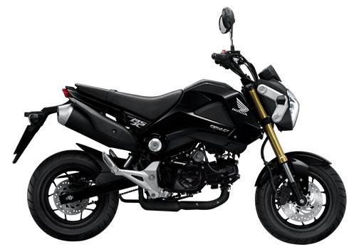 Honda MSX 125 สีดำ