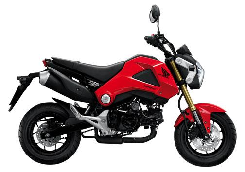Honda MSX 125 สีแดง