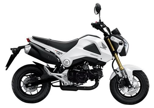 Honda MSX 125 สีขาว