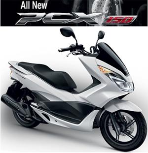 ราคา Honda PCX 150 ตารางผ่อน ดาวน์