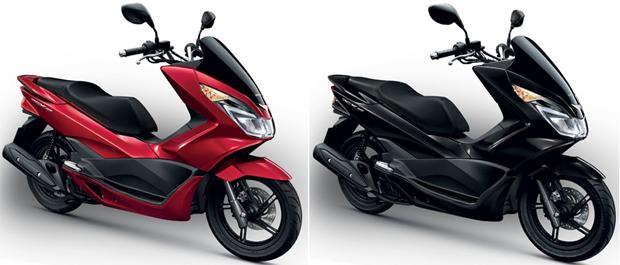 PCX 150 สีแดงเงา, PCX 150 สีดำเงา
