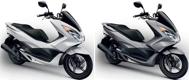 PCX 150 สีขาวด้าน, PCX 150 สีเทาด้าน