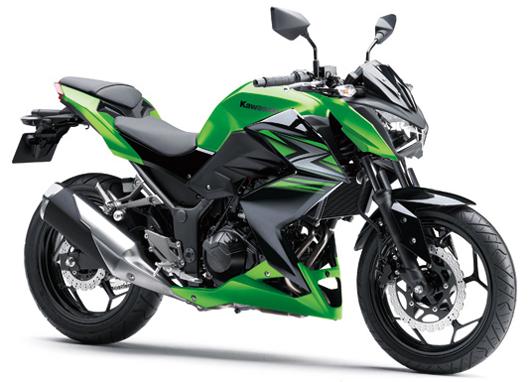 Z250 สีเขียว