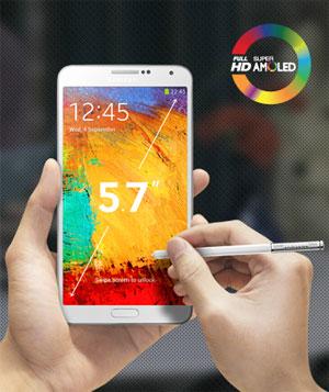 Galaxy Note 3 สเปค