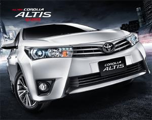 Toyota Altis 2014 ราคา ตารางผ่อน โปรโมชั่น