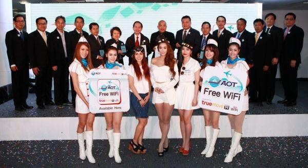 AOT Free WiFi by TrueMove H