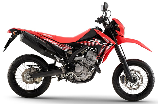 Honda-CRF250M-Red-Black