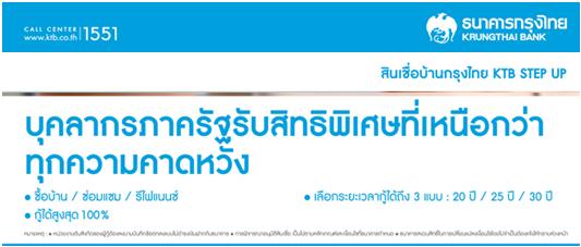 สินเชื่อบ้านกรุงไทย 2557