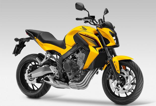 CB650F สีเหลือง