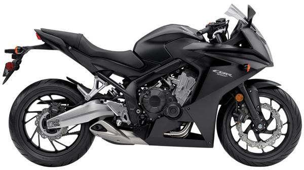 CBR650F สีดำ