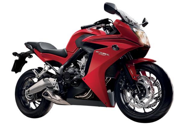 CBR650F สีแดง