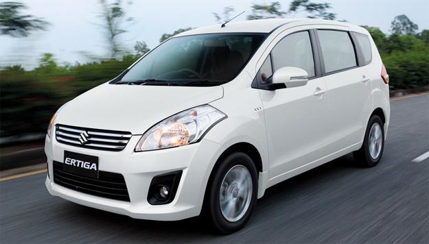 Suzuki Ertiga 2014 สีขาว