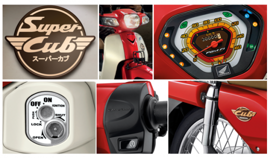 New Honda Super Cub 2016