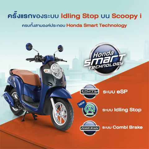 Scoopy i 2017