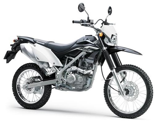 Kawasaki-KLX150-Black