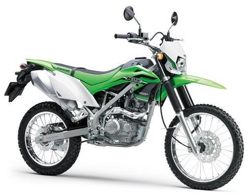 KLX150 สีเขียว