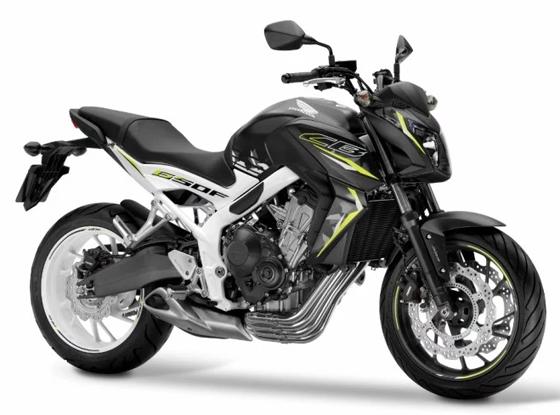 2016 CB650F สีดำ-ขาว