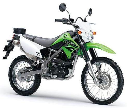 Kawasaki KLX 125 สีเขียว