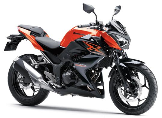 Z250 สีส้ม