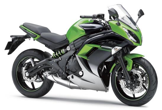 ninja 650 สีเขียว