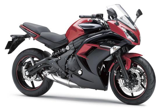 ninja 650 สีแดง