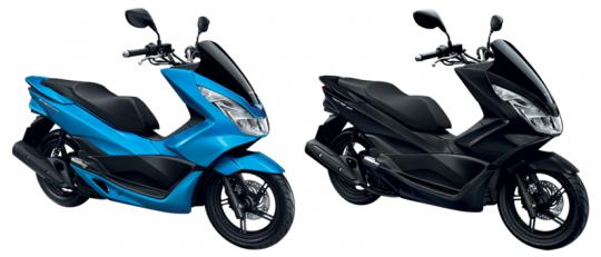 PCX150 สีน้ำเงิน, PCX 150 สีดำด้าน