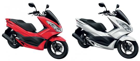 PCX150 สีแดง, PCX 150 สีขาว