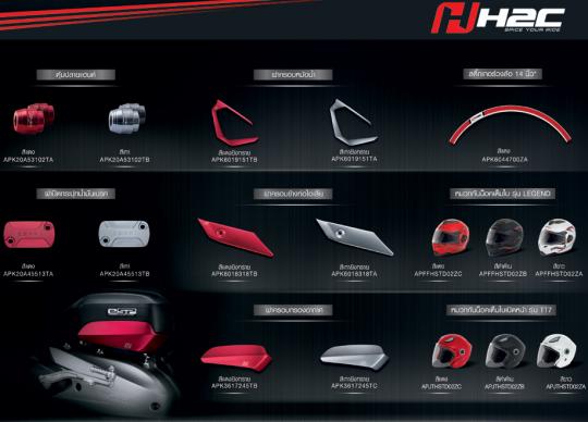 Honda-Click125i-Customized-Part