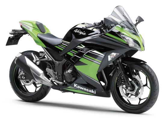 Ninja 300 2016 สีเขียว