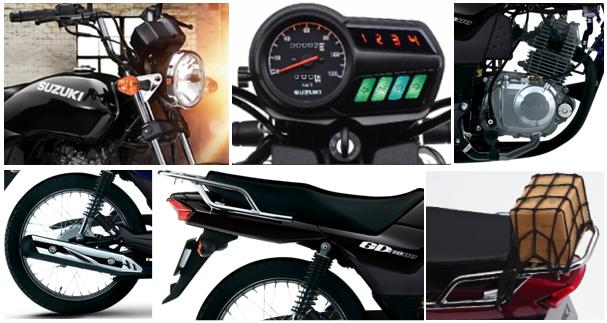 Suzuki-GD-110-Design