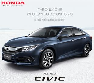 Honda Civic ตารางผ่อน, ราคาซีวิคใหม่