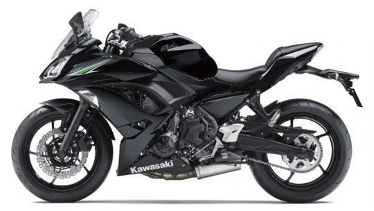 ninja 650 สีดำ
