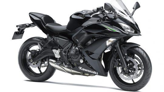 ninja650 สีดำ