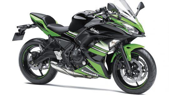 ninja 650 สีเขียว-ดำ