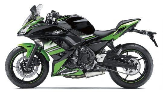 ninja650 สีเขียว-ดำ