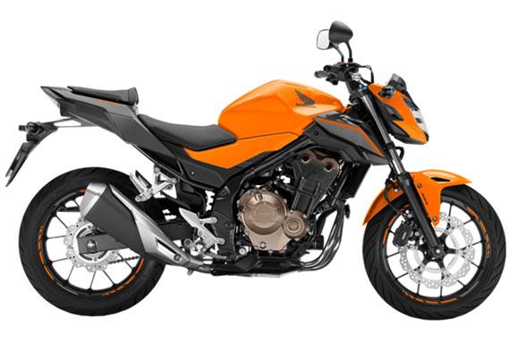 cb500f สีส้ม