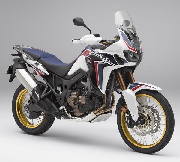 Honda CRF1000L สีขาว