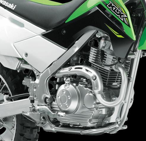 Kawasaki KLX140G Engine