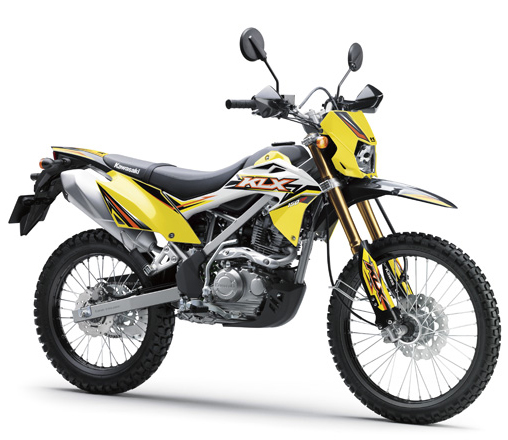 KLX150BF สีเหลือง