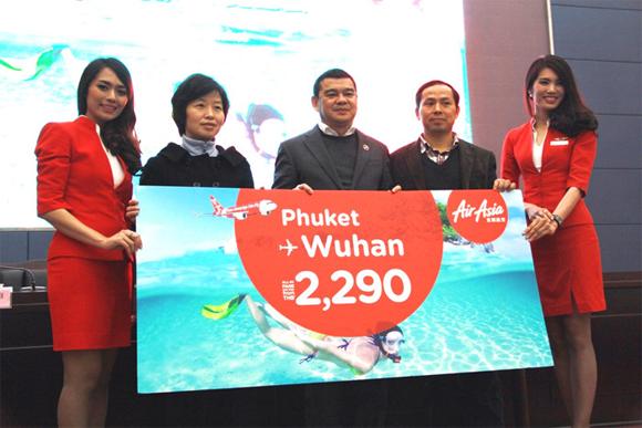 airasia phuket wuhan