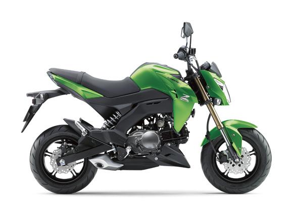 Kawasaki Z125 สเปค
