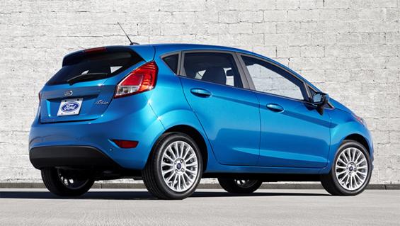 Ford Fiesta 2016 5 ประตู