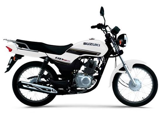 Suzuki GD110 สีขาว