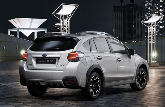 new subaru xv 2016