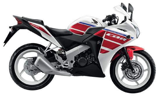 CBR150R สีขาว - สีแดง