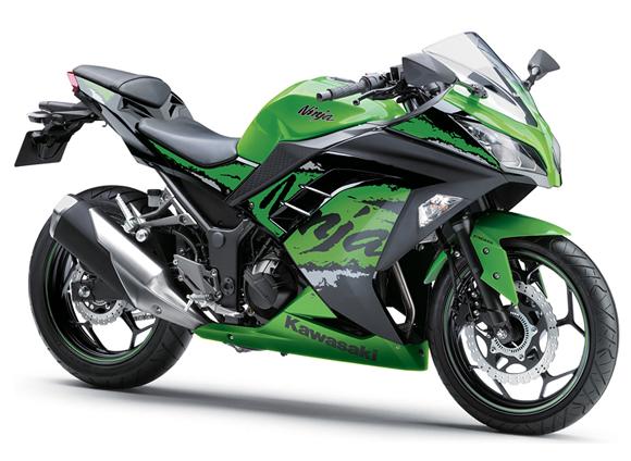 Ninja 300 สีเขียว