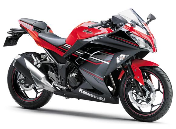 Ninja 300 สีแดง