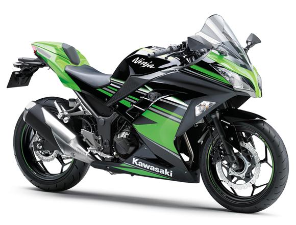 Ninja 300 KRT สีเขียว