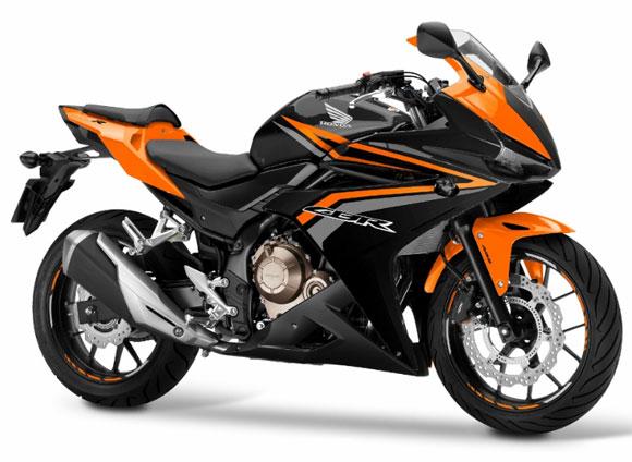 CBR500R สีส้ม-ดำ