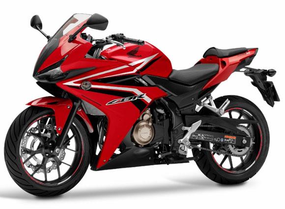 CBR500R สีแดง